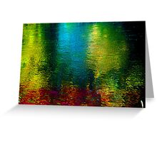 Vertical Rainbow ! Greeting Card