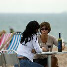 Seaside Gossip by Mark Chapman