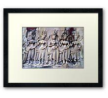 Angels on earth Framed Print