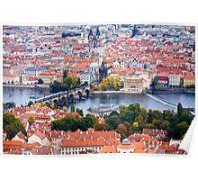 The Charles Brdige & Prague Poster