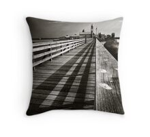 The path. Throw Pillow