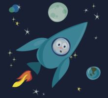 amased cosmonaut by Anastasiia Kucherenko
