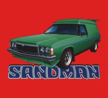 HZ Holden Sandman Panel Van - Super Mint Green by tshirtgarage