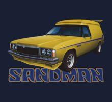 HZ Holden Sandman Panel Van - Yellow Kids Clothes