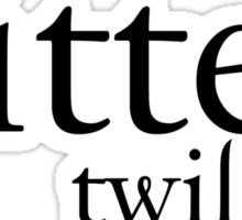 Bitten Twilight T-Shirt Sticker