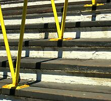 Yellow Railing by girljo818