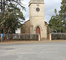 St Luke's Church - Bothwell, Tasmania by PaulWJewell