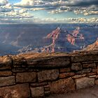 Walled Canyon by Robert  Murray