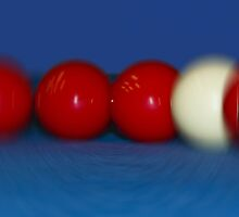 Blurred Balls by Jurgen  Schulz