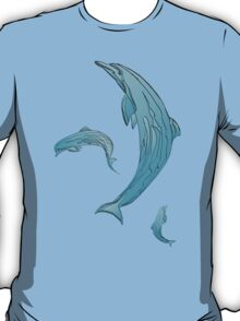 DOLPHINS BLUE T-Shirt