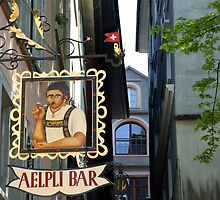 Aelpli Bar, Zurich by John Douglas