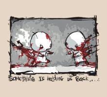 Something Is Holding Us Back! by Philip Elliott