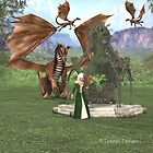 Dragon Grove Guardian by lady975