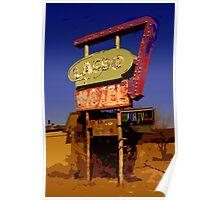 Lasso Motel -- Route 66 Poster