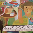 Piano player and cat for sale 800 Euros by Ana Johnson