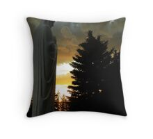Guardian of Sorrow Throw Pillow