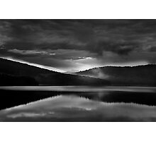 Black Dusk Photographic Print
