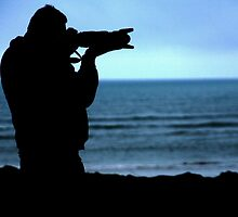 Photographer Silhouette by Franco De Luca Calce