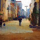 walk alone by marcwellman2000