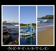 Newcastle - Coastal Montage by reflector