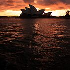 Sunrise Opera House by damienlee