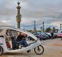 Urban Cab no. 17 by Barbara Harris