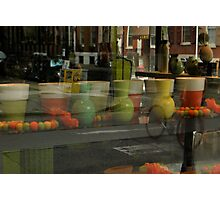 Flower shop window  Photographic Print
