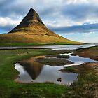Mt. Kirkjufell by Árni  Tryggvason