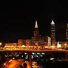 Cleveland Ohio Skyline V by PJS15204