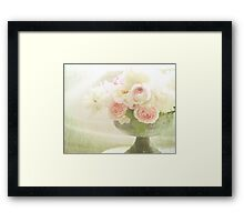 Old fashioned roses Framed Print