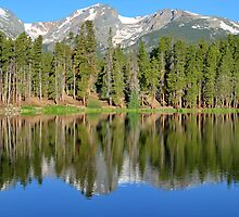 Sprague Lake - Rocky Mountain National Park - Colorado by David Watts