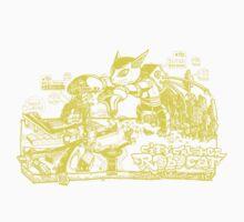 City-crusher Cat Robot Yellow Version by Adew