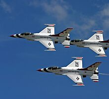 Three Thunderbirds by Topps