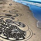 unreal. new brighton beach, aotearoa  by tim buckley | bodhiimages