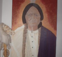Sitting Bull by jcullinan