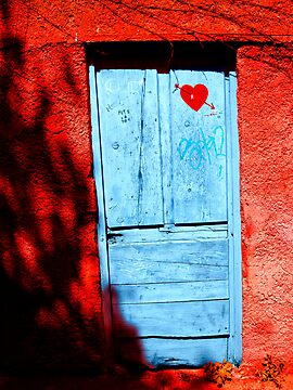 Door in love by KERES Jasminka