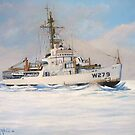 U. S. Coast Guard Icebreaker Eastwind by cgret82