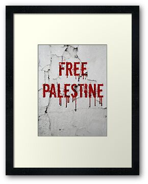 Free Palestine - painted by buyart