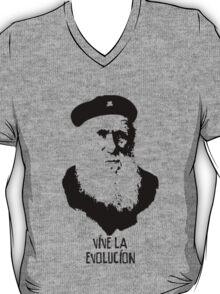Charles Darwin - Vive la Evolucion! T-Shirt