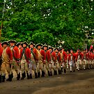 March Of The Redcoats by Andy Mueller