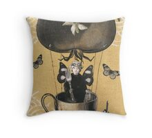 Snack Fairy Throw Pillow