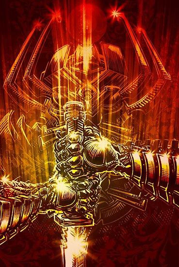 Samurai Swordstroke by Evan Lole