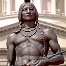 Bronze Indian Statue (Utah State Capitol) by SteveOhlsen