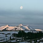 Moon on the Mountains by Ken McElroy