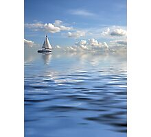 Lonely ship Photographic Print