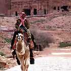 Petra, Jordan by Julie Waller