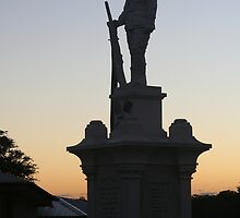 Early Dawn, Tewantin Memorial by Emma Tepania