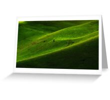 """Green Hills"" Greeting Card"