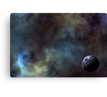 Alone in the Universe Canvas Print