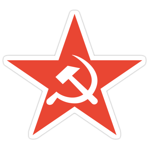 """Soviet Union symbol"" Stickers by 4Seasons 
